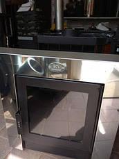 Печка для бани «Пруток-Панорама» с выносной топкой, фото 2