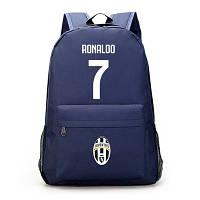 Рюкзак спортивний Ronaldo 7 FC Juventus темно-синій, фото 1