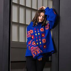 Пальто с геометрическим орнаментом - Зара
