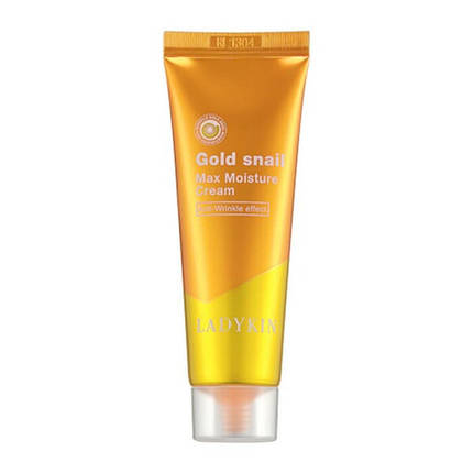 Глубокоувлажняющий крем с муцином улитки LadyKin Gold Snail Max Moisture Cream, 50 мл, фото 2