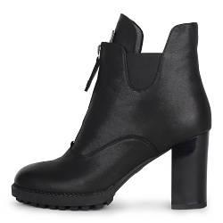 Кожаные демисезонные женские ботинки  Lady Marcia