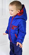 """Курточка для мальчика демисезонная """"Спайдермен"""" рост 98-104-110-116см, фото 2"""