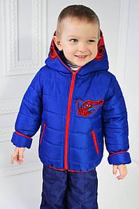 """Курточка для мальчика демисезонная """"Спайдермен"""" рост 98-104-110-116см"""
