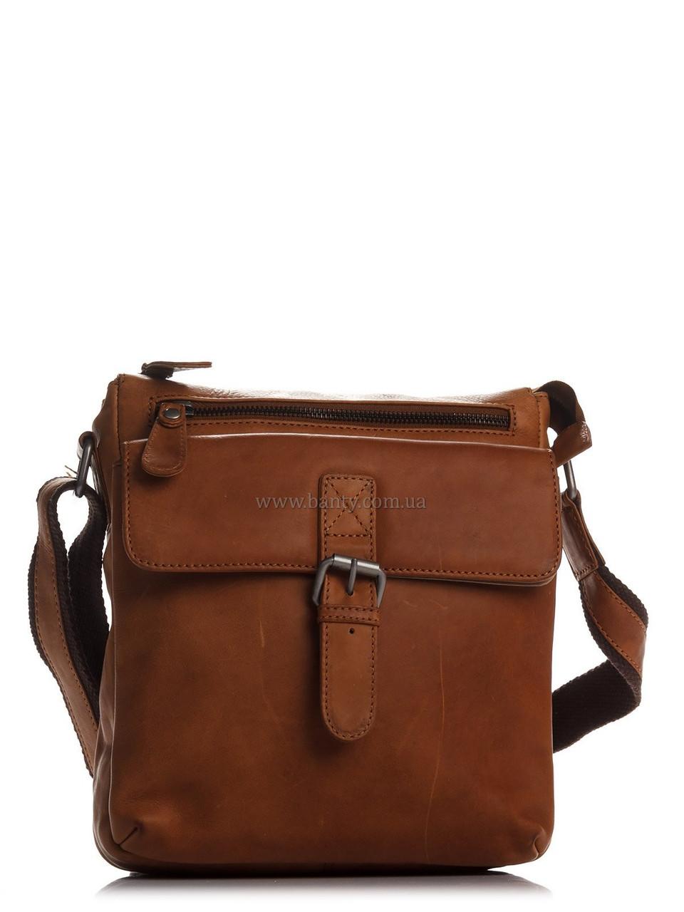 198c37932f8a Кожаная сумка HILL BURRY Мужская Сумка HILL BURRY 870547_brown Кожаная  Коричневый -