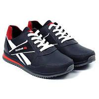 Чоловічі шкіряні кросівки Anser Reebok NS Black (Репліка). Розмір 41 215f98896292e