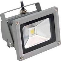 Светодиодный прожектор Feron LL-122 1LED 10W белый 4000K 230V (115*86*85mm) Серебро IP65, фото 1