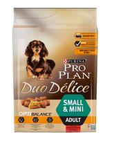 Корм Purina Pro Plan (Пурина Про план) Duo Delice Adult Small Mini для собак мелких пород (говядина), 2,5 кг