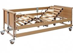 Кровать с электроприводом 4-х секционная Economic II Burmeier