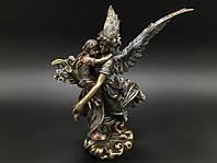Коллекционная статуэтка Veronese Ангел-хранитель с ребенком на руках WU73501A4