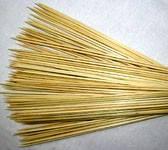 Палочки бамбуковые 15см.(10шт.)(код 00700)