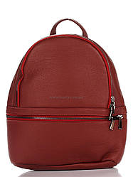 Кожаная сумка Genuine Leather Рюкзак Genuine Leather 8482_red Кожаный Красный