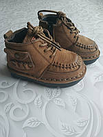 Демисезонные детские ботинки, нубук, фото 1