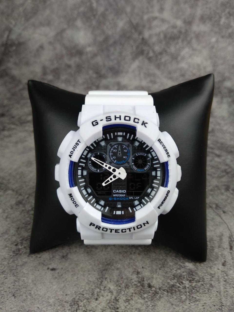 Часы Casio G-Shock white-black реплика