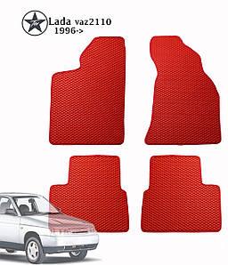 Коврики полимерные в салон Lada vaz2110 1996- (4 шт) материал EVА