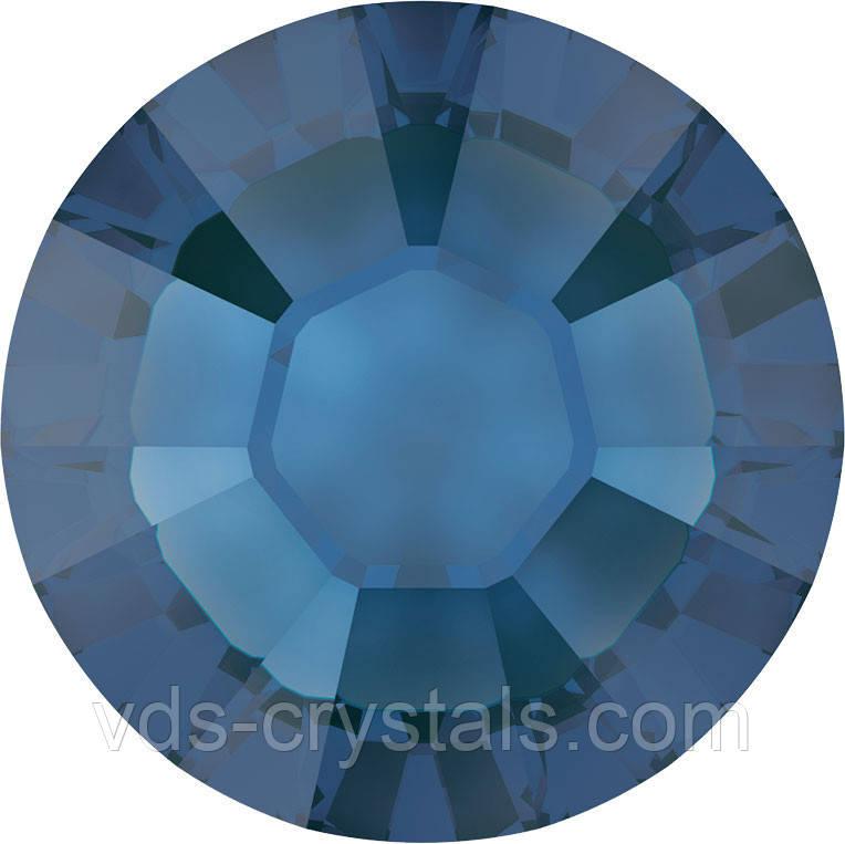 Кристаллы Сваровски клеевые горячей фиксации 2038 Sapphire (206)