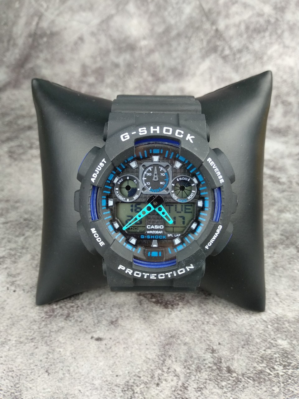 Часы Casio G-Shock black-blue реплика