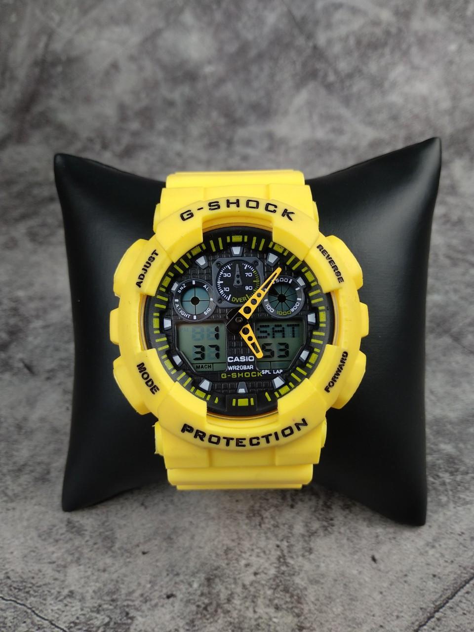 Часы Casio G-Shock yellow реплика