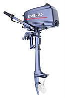 Fisher T2,5C BMS - мотор лодочный двухтактный Фишер 2.5