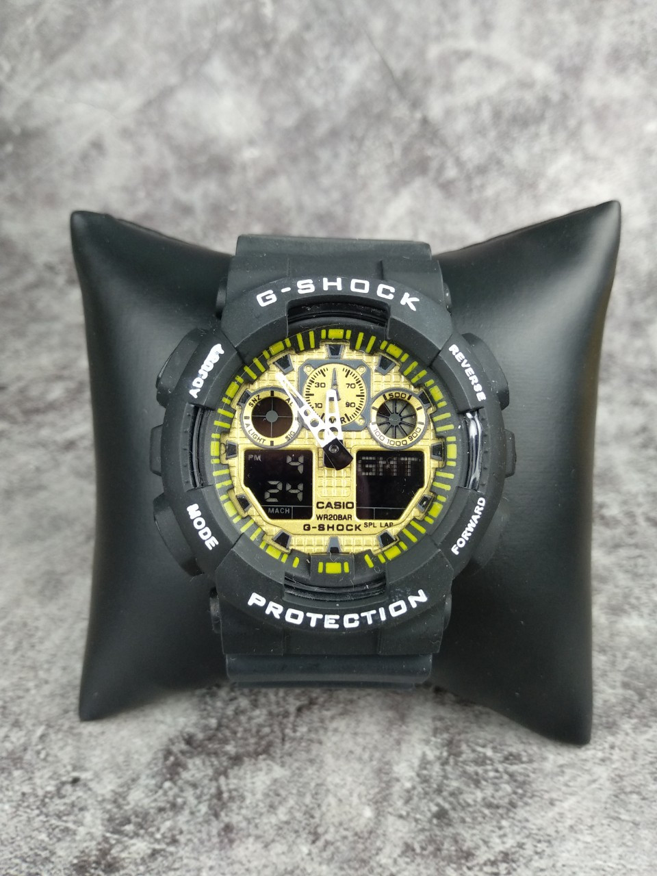 Часы Casio G-Shock black - gold реплика
