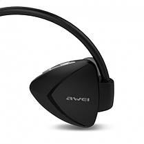 Беспроводные Bluetooth наушники Awei A840BL Black, фото 3