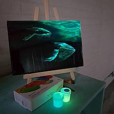 Светящаяся краска Acmelight для творчества набор 8шт. (160 мл), фото 2