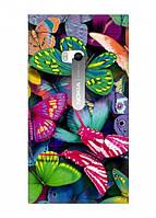 Чехол для Nokia Lumia 900 (Тропические бабочки)
