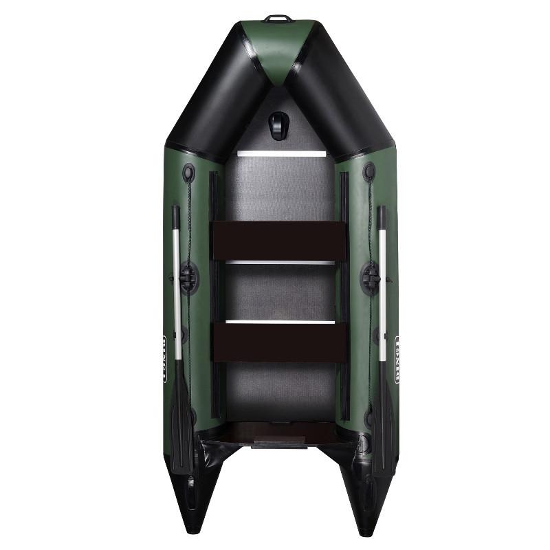AquaStar D-290 RFD – лодка надувная килевая моторная Аквастар 290 с жестким настилом