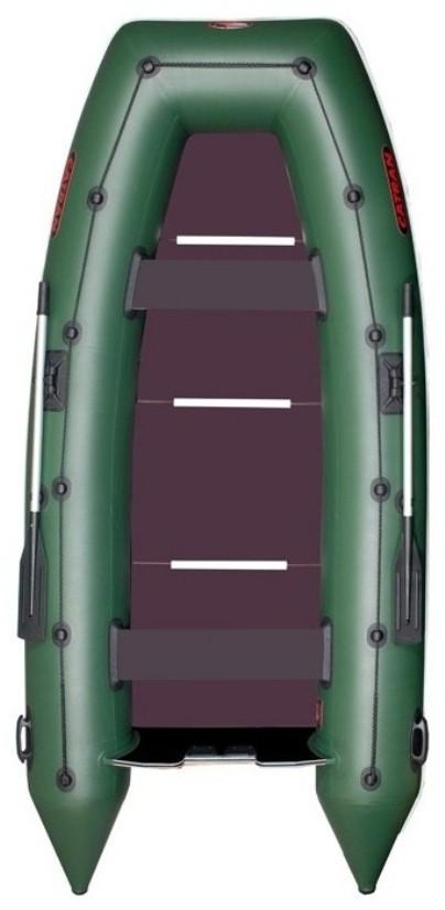 Catran C-310LK - лодка надувная килевая моторная Катран 310 с жестким настилом на 45 баллоне