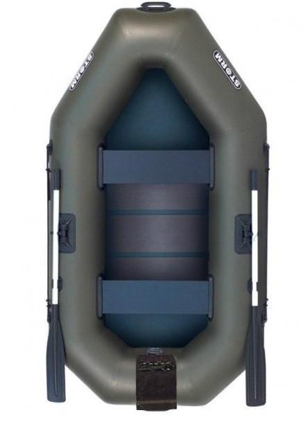 Aqua Storm st240cDt – лодка надувная Шторм 240 с навесным транцем и ковриком