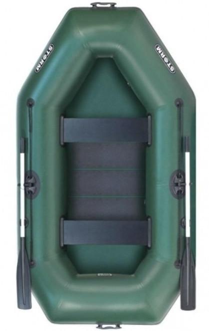 Aqua Storm SS260R - лодка надувная двухместная Шторм 260 с реечным ковриком
