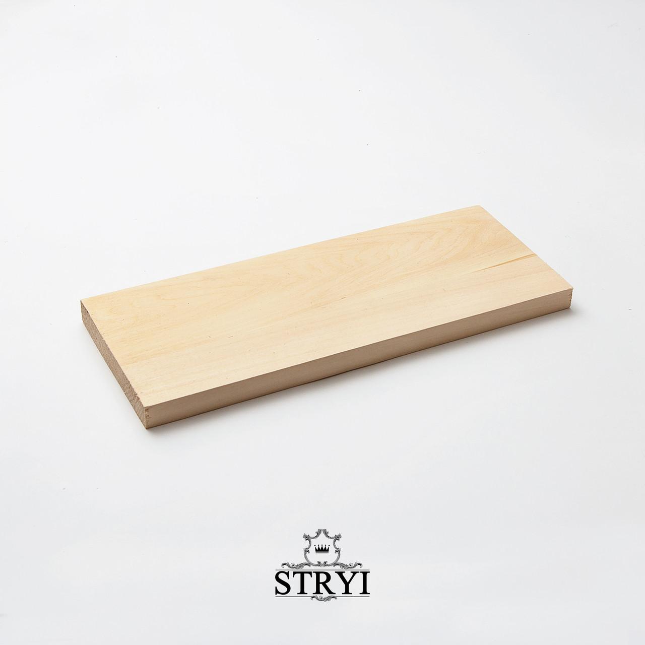 Дощечка (заготовка) липовая 300*120*15мм, STRYI, для резьбы