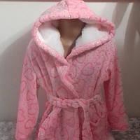 Халат для девочки розовый Primark Германия р.104см. (3-4 года), фото 1