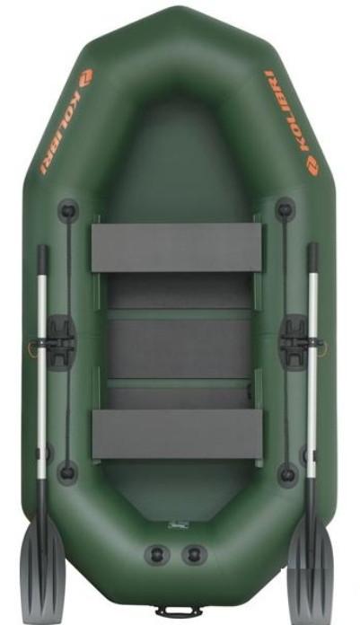 Kolibri К-250Т rug - лодка надувная Колибри 250 с реечным ковриком