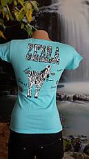 Двухсторонняя футболка зебра, фото 2