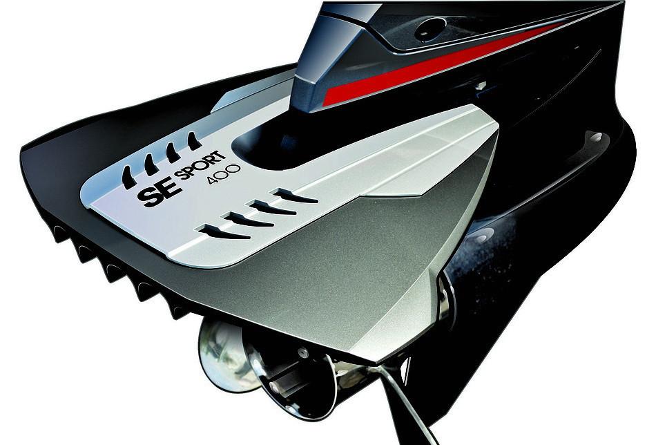 Гидрокрыло SEsport 400 - установка без сверления для лодочного мотора до 300 лс