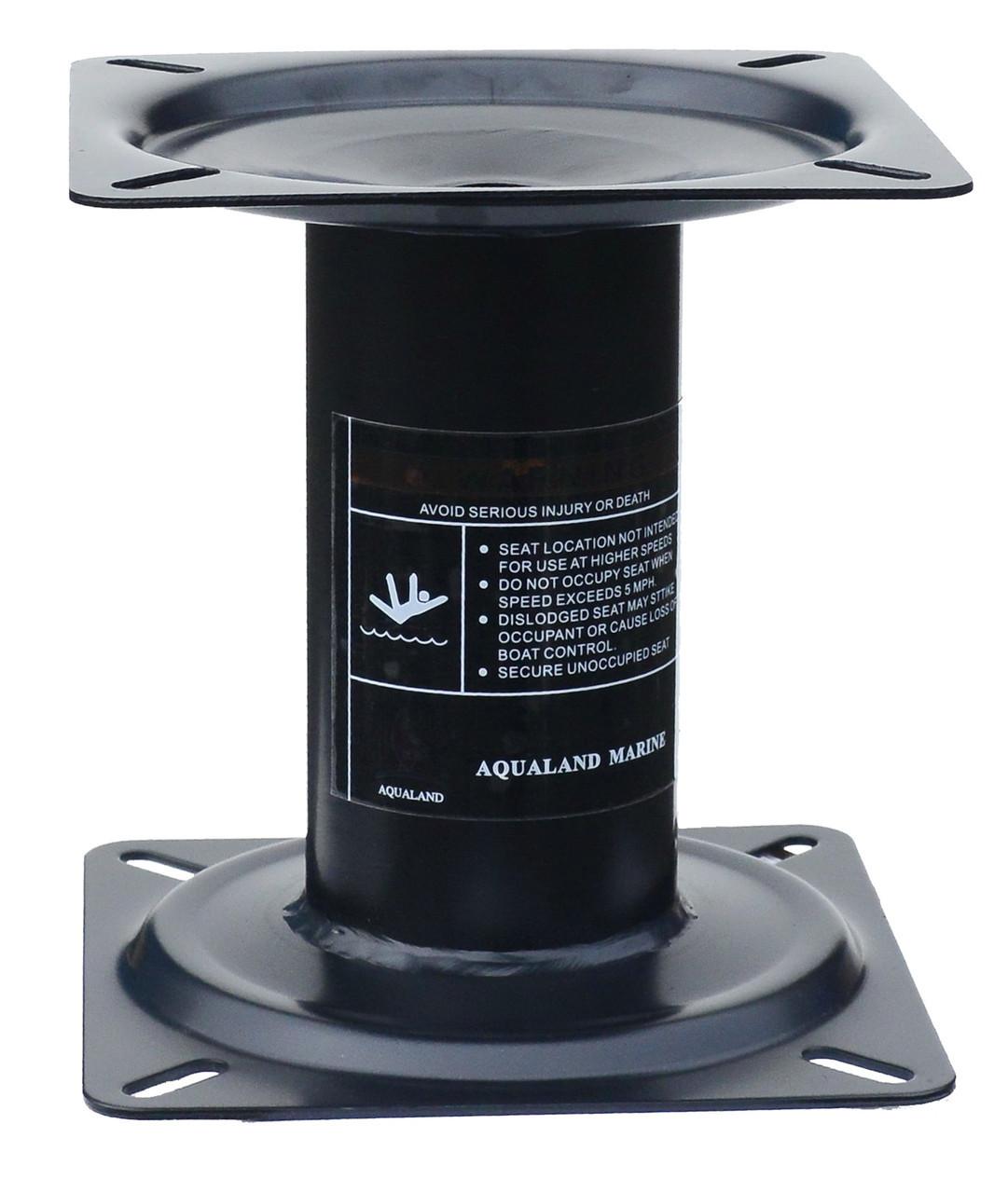 Стойка металл 18 cм для сиденья в лодку или катер