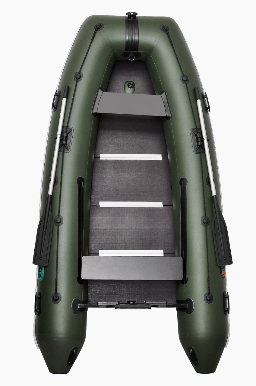 Omega 300К PFA Lux - лодка надувная килевая Омега 300 с жестким фанерным настилом
