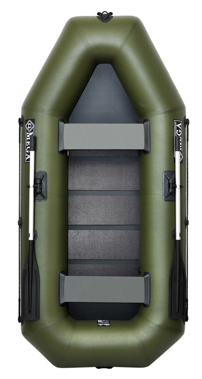 Omega 260LS - лодка надувная гребная двухместная Омега 260 с реечным ковриком
