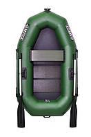 Omega 190LS - лодка надувная гребная одноместная Омега 190 с реечным ковриком