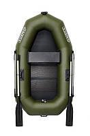 Omega 210LS - лодка надувная гребная одноместная Омега 210 с реечным ковриком , фото 1