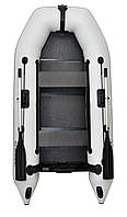 Omega 300M DE Lux - лодка надувная моторная Омега 300 с жестким настилом
