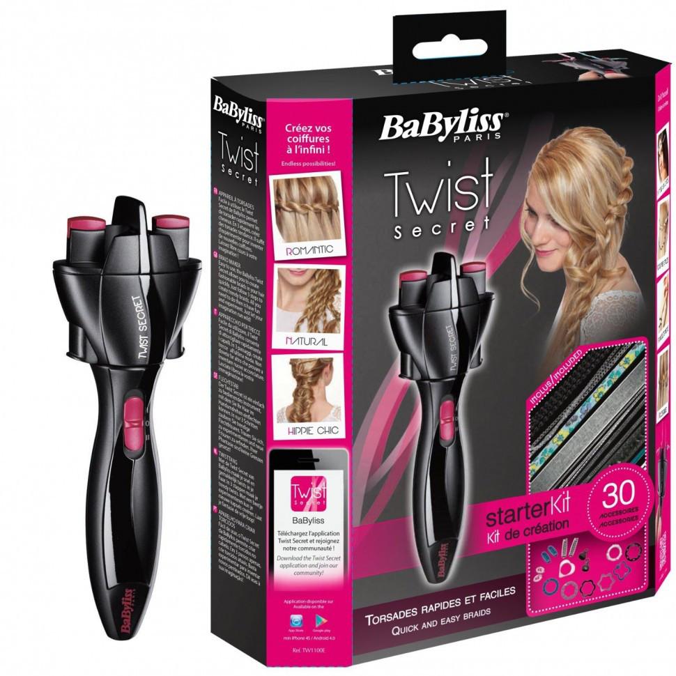 Прибор для плетения косичек Babyliss Twist Secret TW-1000E - для укладки волос