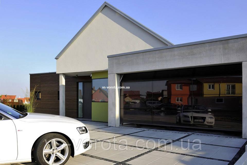 Ворота гаражные секционные GANT Чехия размер 2900х2000 мм