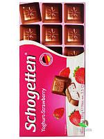 Шоколад Schogetten Yoghurt-Strawberry