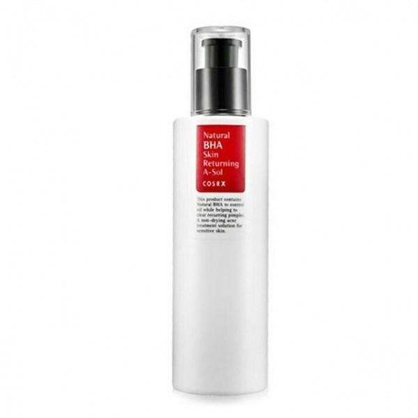 Тонер для проблемной кожи с BHA-кислотой COSRX Natural BHA Skin Returning A-Sol, 100 мл