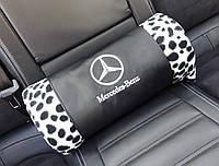 """Плед автомобильный """"Mercedes-Benz"""" в футляре. Размер пледа: 150х180 см. Плед в машину, оригинальный подарок., фото 1"""