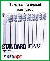 Биметаллический радиатор FAV Standard  500х80х80 (Польша)