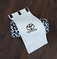 """Плед автомобильный """"Toyota"""" в футляре. Размер пледа: 150х180 см. Плед в машину, оригинальный подарок."""