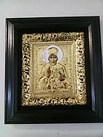 Икона Святителя Николая 34х37см в позолоте