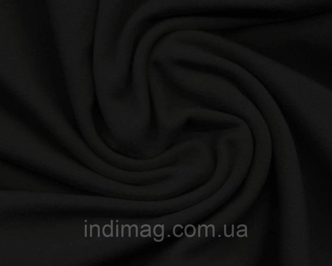 Рибана лайкра Пенье черная